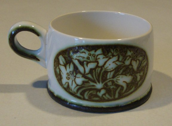 Vintage Wedgwood Tiger Lily Cup (no saucer)