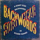 Vintage 1988 Random House Backwords Board Game