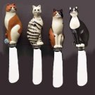 Boston Warehouse Warren Kimble Cat Spreaders - Set of 4