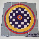 Vintage PETER MAX Pop Art Target Scarf - Feral Cat Rescue Benefit