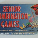 Vintage 1960 Milton Bradley # 4201Senior Combination Games