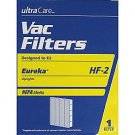 Ultracare Eureka Style HF-2 Vacuum Filter HEPA Media for Eureka Upright