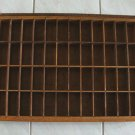 "Vintage Typesetters Drawer 19"" x 25 1/2"" x 2 3/4"""