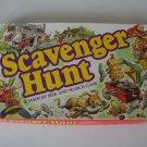 Vintage 1983 Milton Bradley Scavenger Hunt Board Game