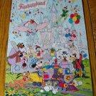 Vintage Hallmark Fantasyland Disney Puzzle 100 Pieces