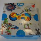 Vintage 1997 Primordial ZOOB Kinetic Building Toy 120 pc Modeling System