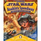 LucasLearning 1999 Star Wars: Anakin&#39;s Speedway - PC & MAC Game- Brand NEW