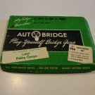Vintage 1957 Autobridge Play Yourself Bridge Game