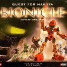 Vintage 2001 RoseArt Quest for Makuta Bionicle Adventure Game