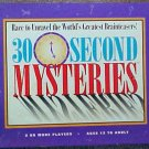 Vintage 1995 University 30 Second Mysteries Game