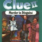 Vintage 1988 Parker Brothers Clue II VCR Mystery Game