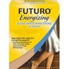 New Futuro Energizing Ultra Sheer Pantyhose Mild Plus Nude New