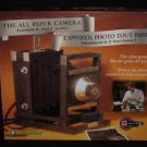 Vintage 1997 Puzz 3D Wrebbit Built Art The All Paper 19th Century Camera Kit