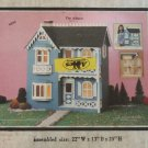 "Vintage Artply Co. No. 77 ""The Allison"" Wood Dollhouse Kit New"