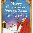Vintage 1986 Merry Christmas, Strega Nona, De Paola ISBN: 0152531831
