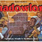 Vintage 1983 Parker Brothers Shadowlord! Board Game