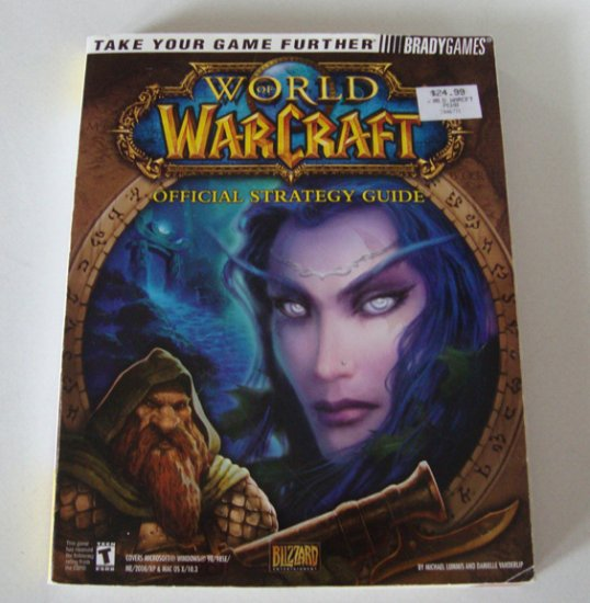 Bradygames 2004 World Of Warcraft Official Strategy Guide