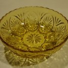 Vintage Anchor Hocking AHC15 Bowl - Yellow Glass