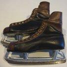 Vintage Daoust Senior Delux NHL Canadian Mens / Boys Ice Skates Size 9