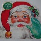 Vintage 1977 Golden Press Shape Book - The Santa Claus Book