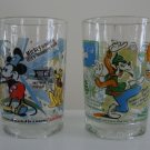 McDonald's Walt Disney World's 100 Years Of Magic Glass Tumbler -  Set of 2