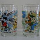 McDonald's Walt Disney World's 100 Years Of Magic Glass Tumbler -  Set of 2