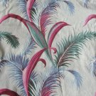 Vintage 40s-50s Fernery Barkcloth Drapery Panel