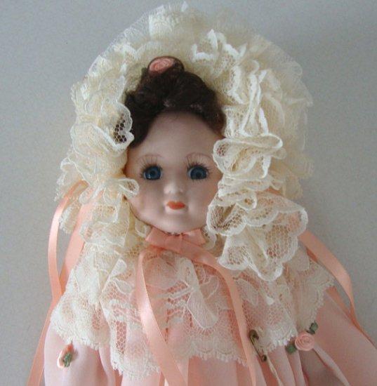 """Vintage 1994 Elsie Massey Originals """"Diana"""" Porcelain Victorian Doll"""