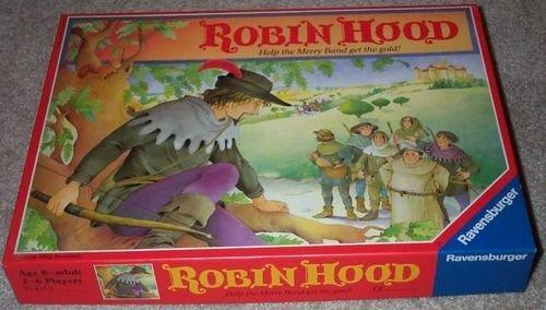 Vintage 1990 Ravensburger Robin Hood Board Game
