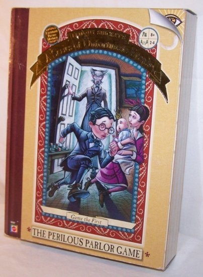 2002 Mattel Lemony Snickets The Perilous Parlor Board Game
