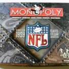 Vintage 1999 Hasbro Monopoly: 1999 NFL Gridiron Board Game