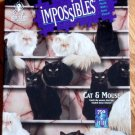 Vintage 1994 bePuzzled Impossibles Cat & Mouse Puzzle - Cat Rescue Benefit