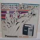 Vintage 1970's Panasonic # RQ-420S Cassette Tape Recorder in Orig Box