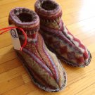 NEW Susie Q Handmade Recycled Sweater Slippers - Cat Rescue Benefit