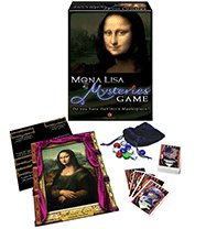 Winning Moves 2006 Mona Lisa Mysteries Game MIB