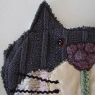 NEW Susie Q Handmade Recycled Sweater Cat Shaped Pot Holder