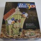 Vintage 2000 Puzz3D Bluebird Bungalow 229 Pc Puzzle - Used