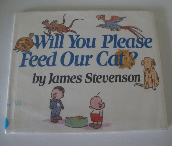 Will You Please Feed Our Cat? [Library Binding] ISBN: 0688068480