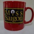 Vintage 1988 Kilncraft Coffee Mug Miss Saigon Souvenir Cup Mug