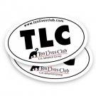 Ten Lives Club TLC Bumper Sticker to Benefit Stomatitis Cats