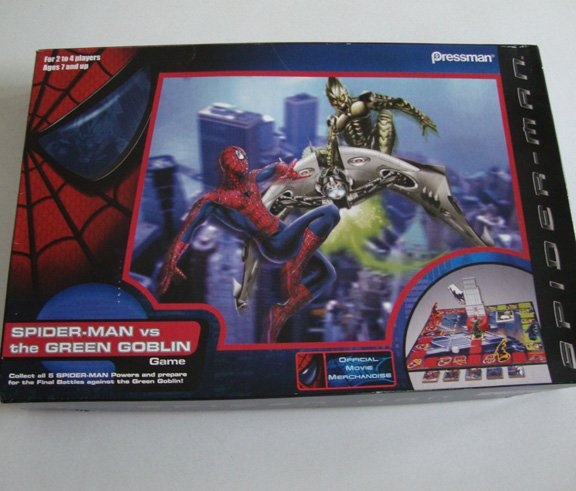 Pressman Spider-Man vs The Green Goblin Game