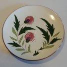 Vintage Stangl Thistle Salad Plate