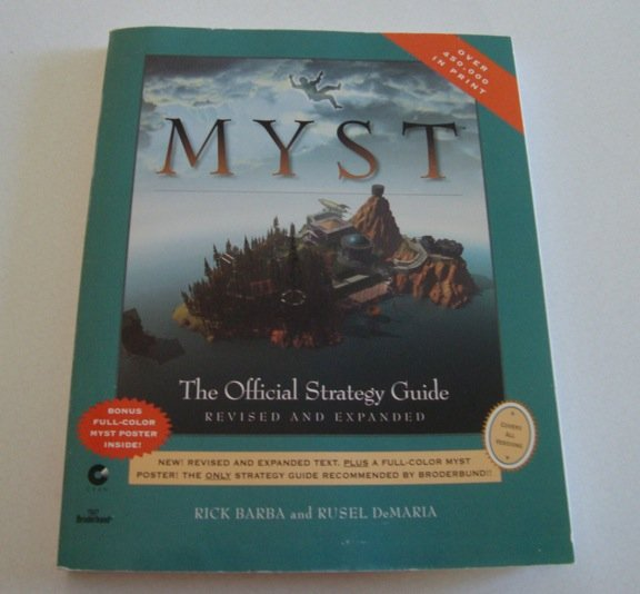 Myst: Official Strategy Guide ISBN-10: 0761501029