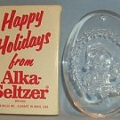 Vintage 1989 Alka Seltzer Advertising Speedy Christmas Ornament