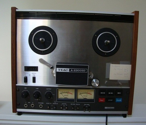 Vintage 1970s TEAC A-2300SD Reel to Reel Tape Deck Recorder w/ Dolby