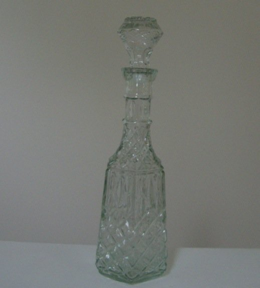 Vintage Libbey Cambridge Glass Decanter - in orig. box