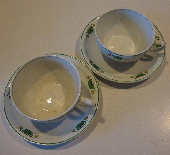 Vintage Grindley England 794 Cup & Saucer - Set of 2