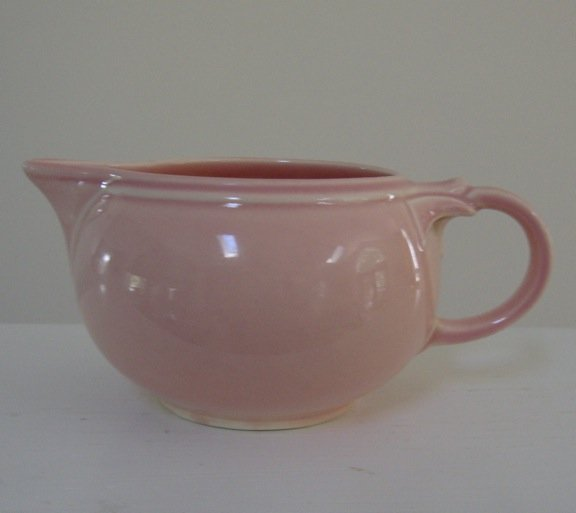 Vintage Taylor Smith and Taylor LuRay Pink Creamer