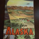 "Vintage 1961 ""Hello from Alaska"" Booklet"