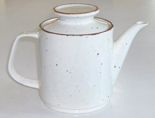 Vintage J & G Meakin Lifestyle Teapot with Lid - England